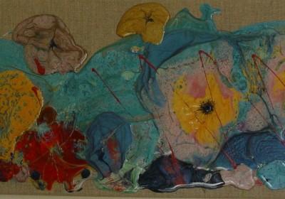 Farandole - Peinture sur résine